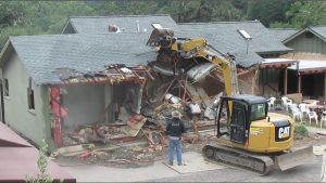 house demolition in Knoxville, TN